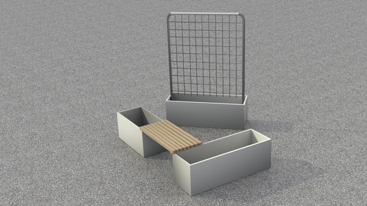 Image of   Hyggekrogen - Galvaniseret stål