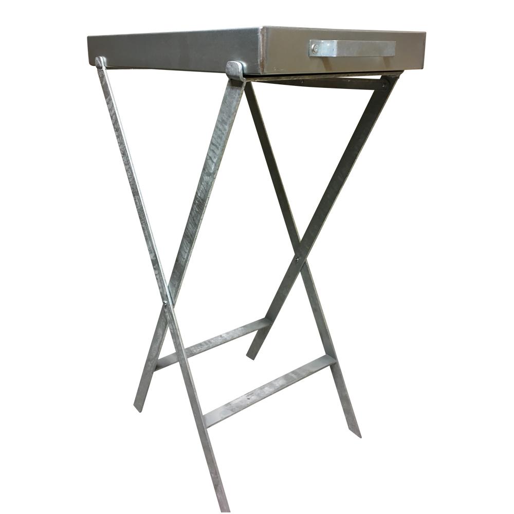 Image of   Bakkebord - varmgalvaniseret - med håndtag