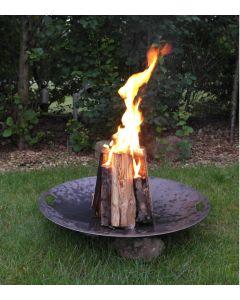 Baalfad-med-flad-kant-og-med-levende-ild