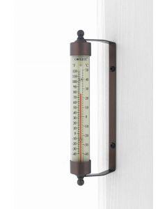 Termometer i bronzeret aluminium