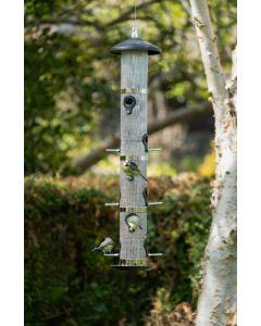 Fodertårn plads til 12 fugle