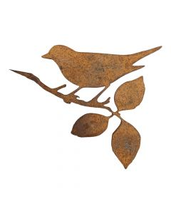 Rusten fugl silhuet