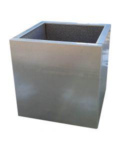 Plantekasse i galvaniseret stål - 40 x 40 x 40 cm