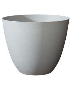 Krukke grå med rund form