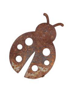 Rusten mariehøne i jern