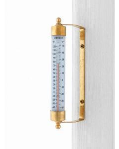 Udendørs termometer i messing