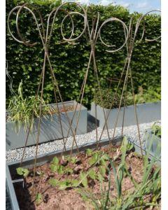 Støtte på 4 ben til slyngplanter