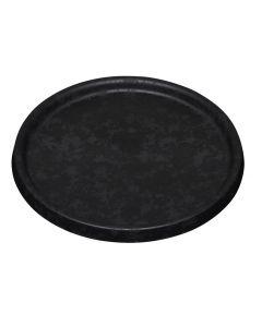 Plastunderskål sort