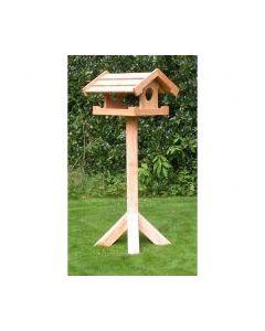 Kæmpe fuglehus på fod