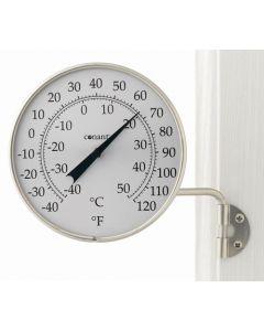 Aluminiums termometer rundt