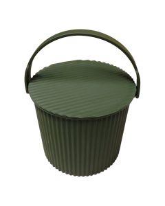 Grøn-omnioutil-spand