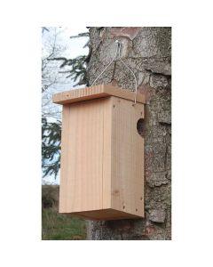 Redekasse til træløberen i bæredygtig Douglasgran